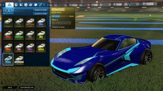 Sky Blue Komodo