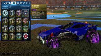 Purple P-SIMM: Inverted