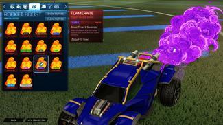 Purple Flamerate