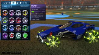 Lime Picket: Holographic