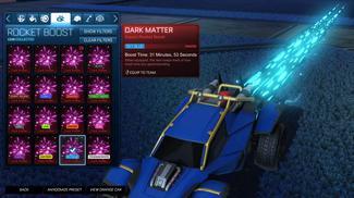 Sky Blue Dark Matter