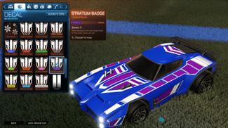 Purple Stratum Badge [Dominus]