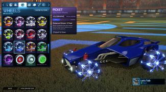Cobalt Picket: Holographic