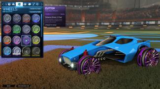 Purple Cutter