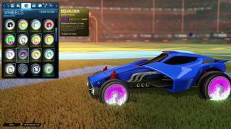 Purple Equalizer