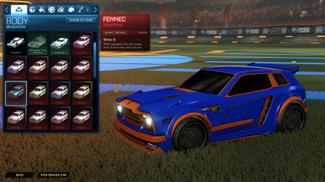 Burnt Sienna Fennec
