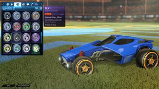 Orange SLK