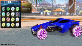 Purple Santa Fe