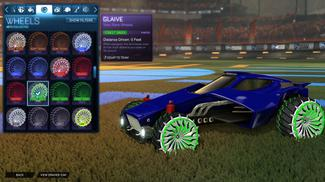 Forest Green Glaive