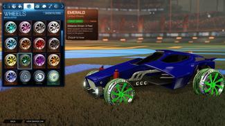Forest Green Emerald