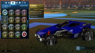 Black P-SIMM: Inverted