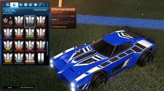 Black Stratum Badge [Dominus]