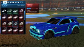 Sky Blue Fennec