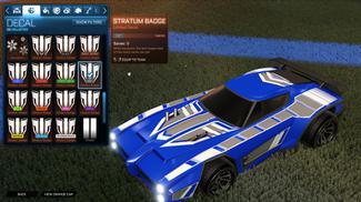 Grey Stratum Badge [Dominus]
