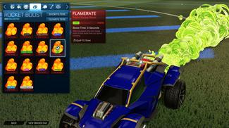 Lime Flamerate