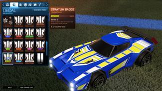 Saffron Stratum Badge [Dominus]