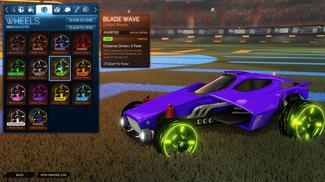 Lime Blade Wave: Inverted