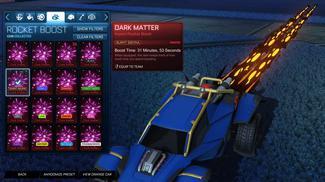 Burnt Sienna Dark Matter
