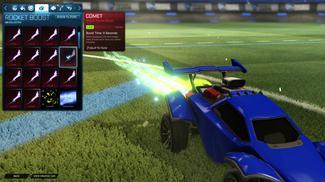 Lime Comet