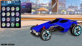 Sky Blue Reaper