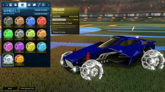 Titanium White Tremor: Inverted