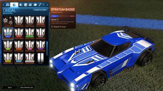 Cobalt Stratum Badge [Dominus]
