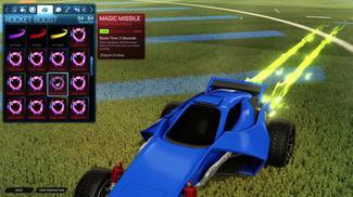 Lime Magic Missile