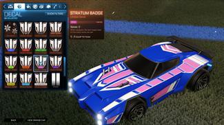 Pink Stratum Badge [Dominus]