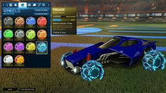Sky Blue Tremor: Inverted