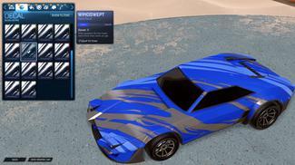 Cobalt Windswept [Imperator DT5]