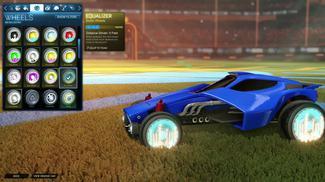Sky Blue Equalizer