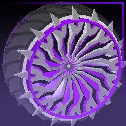 Purple Glaive