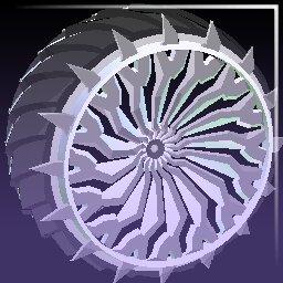 Titanium White Glaive