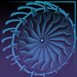 Sky Blue Glaive: Inverted