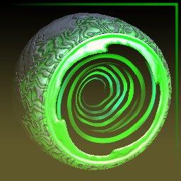 Forest Green Hypnotik