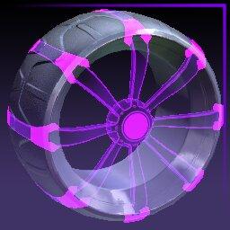 Purple Picket: Holographic