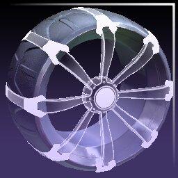 Titanium White Picket: Holographic